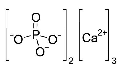 Chemical formula for tricalcium phosphate - learn more about this ingredient in the Prospector Knowledge Center.