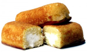 Twinkies vanished from shelves in 2012, but came back in July 2013. Image by Larry D. Moore, used under a Creative Commons ShareAlike License.