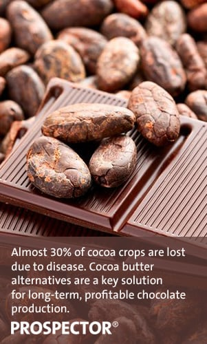 What is cocoa butter? Learn about the ingredient, and its alternatives, in the Prospector Knowledge Center.
