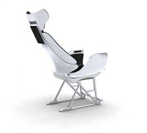 Studio Gavari in Italy worked closely with SABIC to design this prototype aircraft seat, which Stratasys made via 3D printing using a polyetherimide blend. Learn more in the Prospector Knowledge Center.