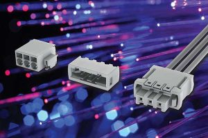 Harting white Har-Flexicon connector for LEDs