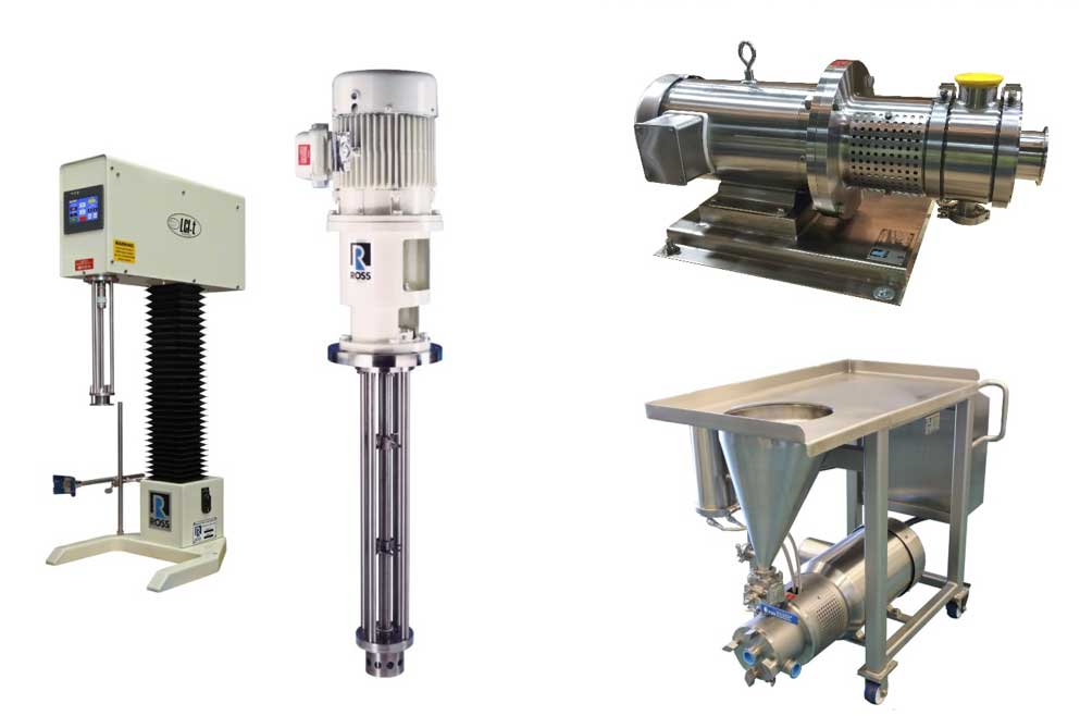 Charles Ross & Son High Shear Mixers - find out how they can help create stable emulsions in the Prospector Knowledge Center.