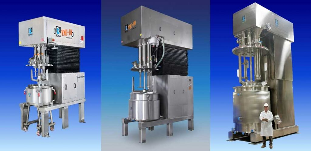 Charles Ross & Son Triple Shaft Mixers - find out how they can help create stable emulsions in the Prospector Knowledge Center.
